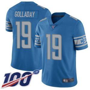 Detroit Lions Kenny Golladay 100th Season Jersey